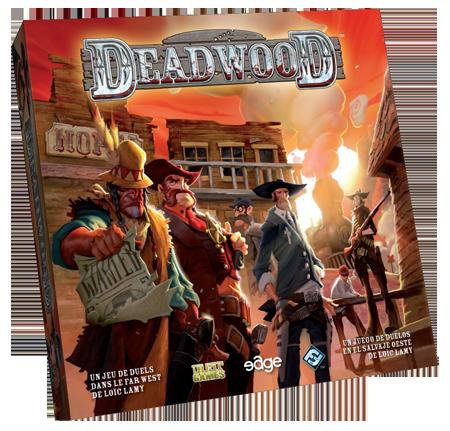 demostración del juego de mesa Deadwood en Valencia. Juegos de la Mesa Redonda