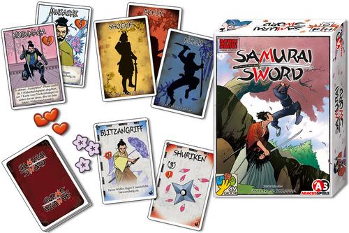 torneo juego de mesa Samurai Sword. Juegos de la Mesa Redonda