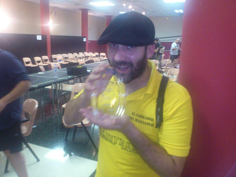 ganador torneo regional de x-wing Valencia. Juegos de la Mesa Redonda