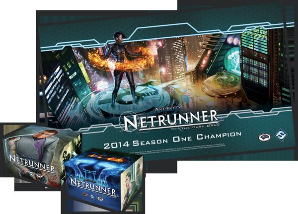 premio torneo oficial de android netrunner juegos de la mesa redonda