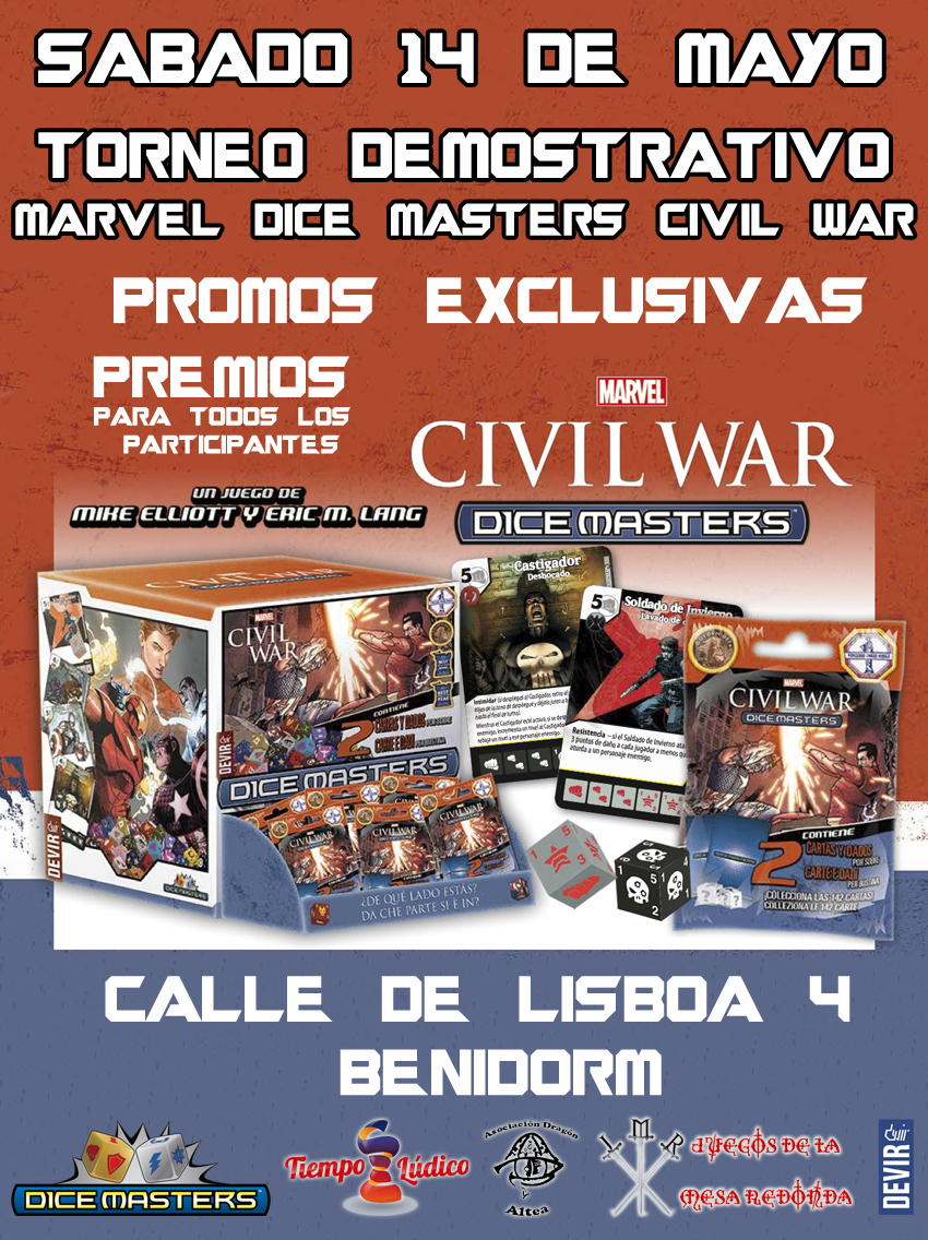 torneo civil war juegos de la mesa redonda